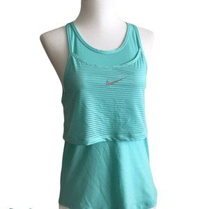 Nike 10K Breathe Tank Mint Green Size XSmall